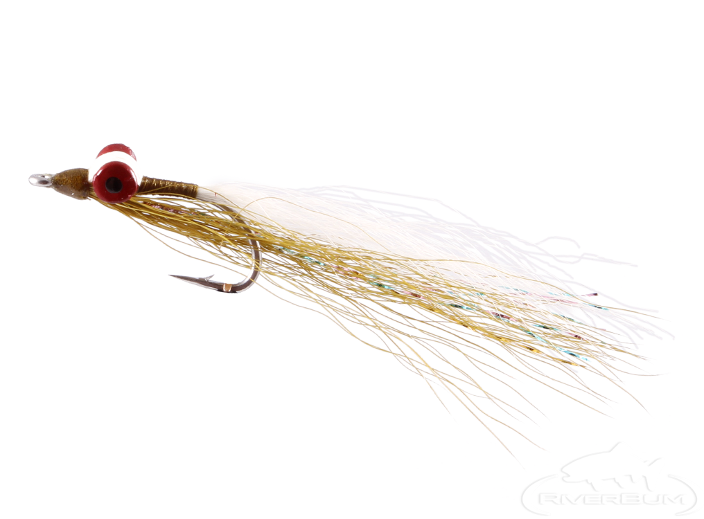 Clouser Deep Minnow, Olive-White