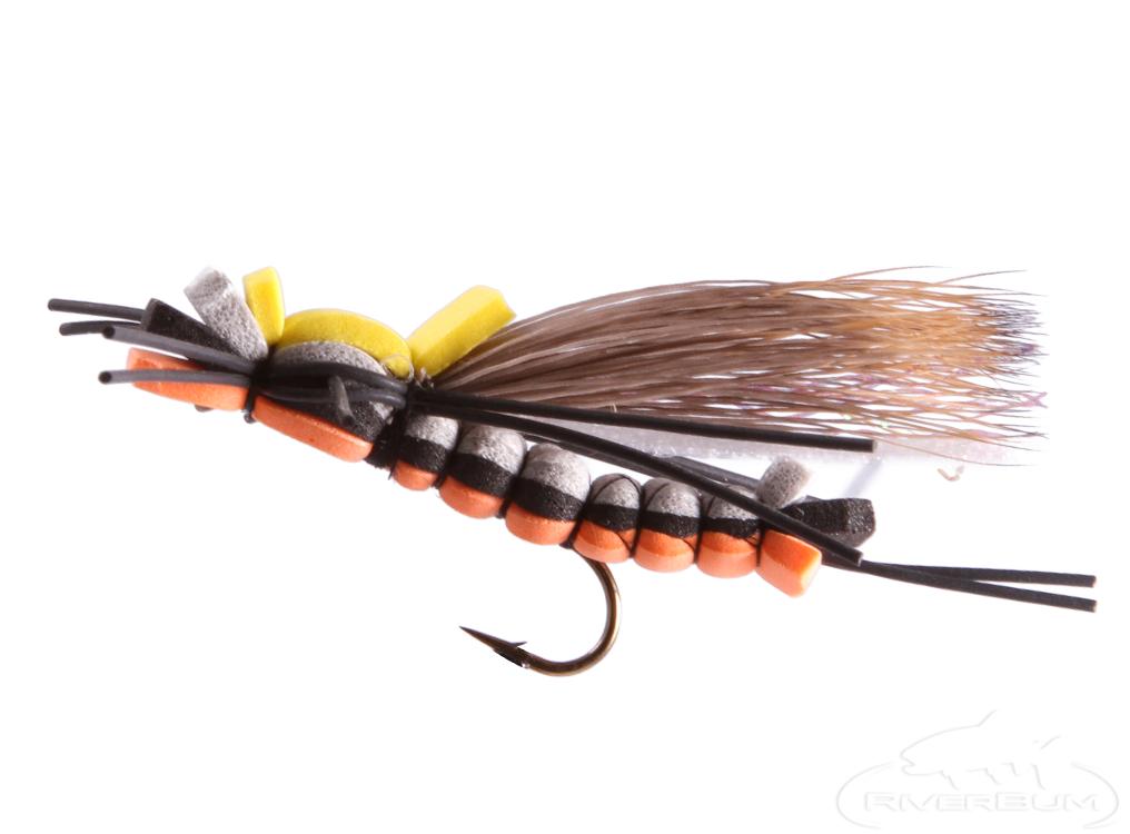 Salmon Fly, Hair Wing Triple Decker