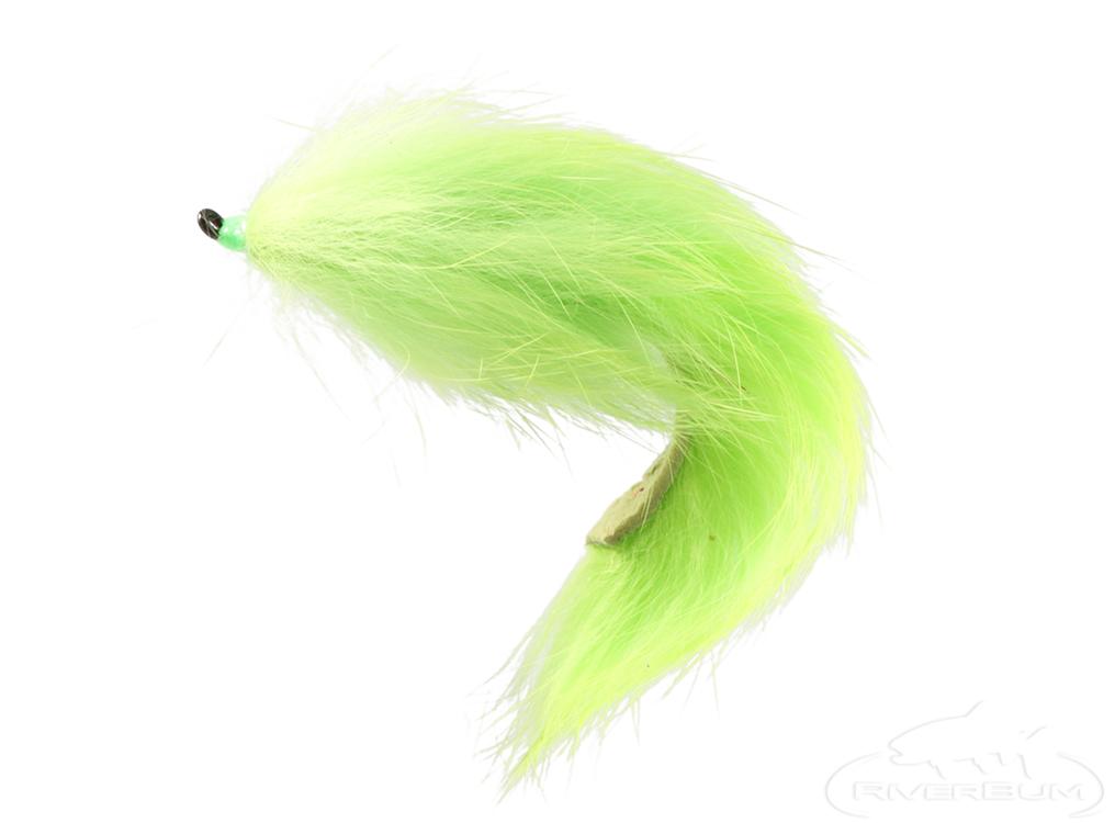 Bunny Leech, Chartreuse, Salmon Hook