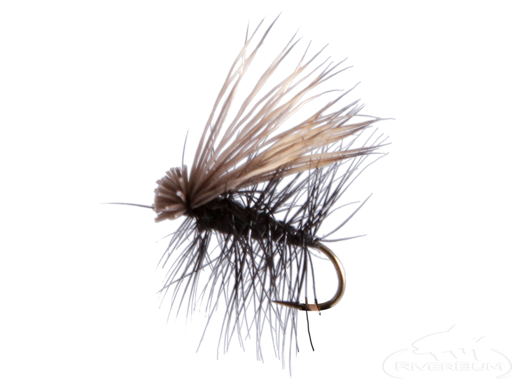 Elk Hair Caddis, Black