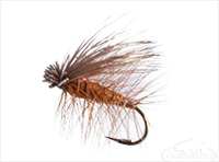 Elk Hair Caddis, Brown