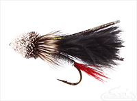 Muddler Minnow, Marabou, Black