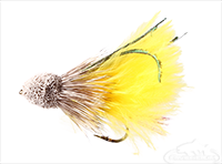 Muddler Minnow, Marabou, Yellow