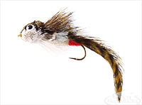 buy Sculpin, Deer Hair, Olive, Red Butt