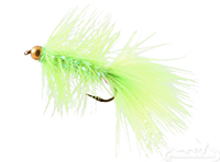 buy Krystal Flash Bugger, Bead Head, Chartreuse