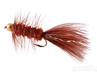 Wooly Bugger, Bead Head, Brown