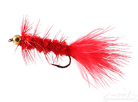 buy Wooly Bugger, Bead Head, Red