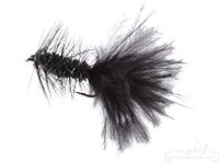 Wooly Bugger, Peacock-Black