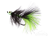 Dredger, Lead Eye, Black/Chartreuse