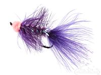 Leech, Egg Sucking, Purple, Salmon Hook