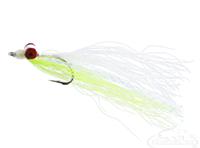 Clouser Deep Minnow, Chartreuse-White