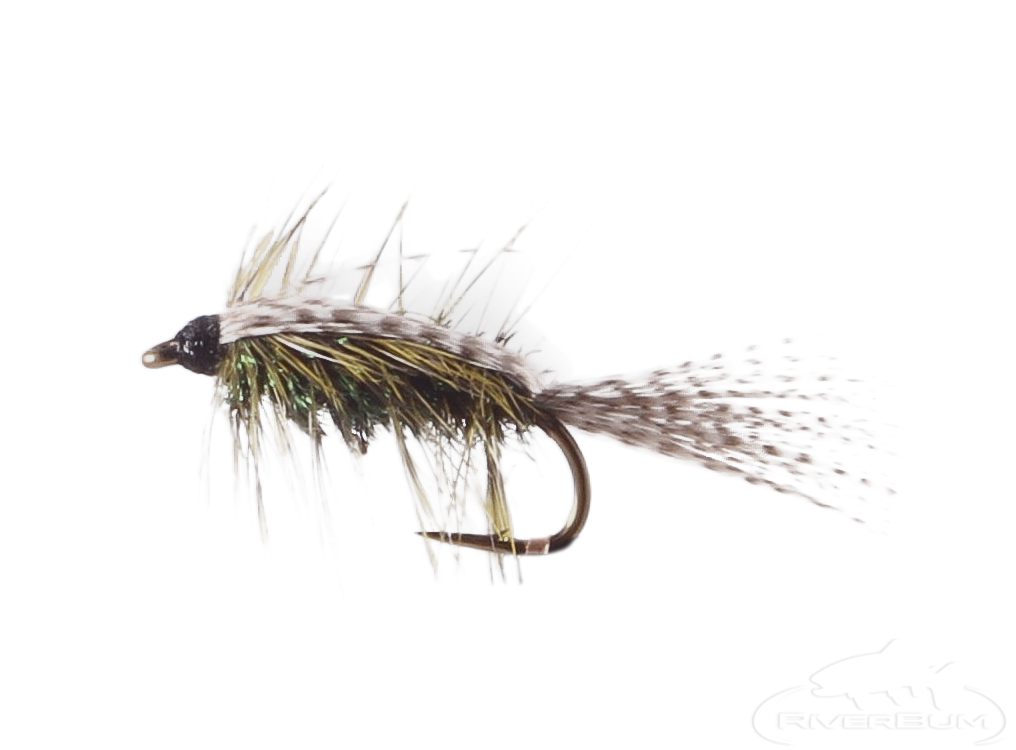 Stillwater Nymph, Peacock-Olive