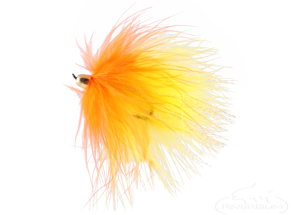 Marabou, Yellow-Orange, Conehead