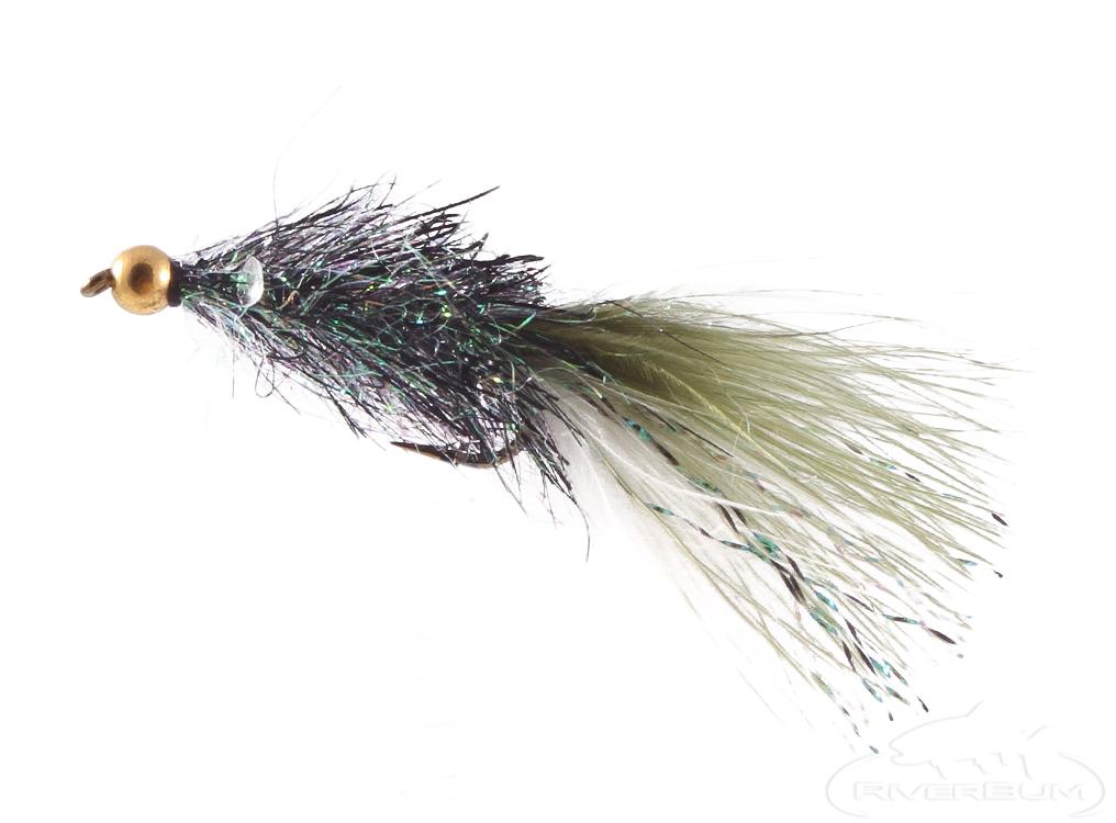 Sparkle Minnow, Bead Head, Peacock