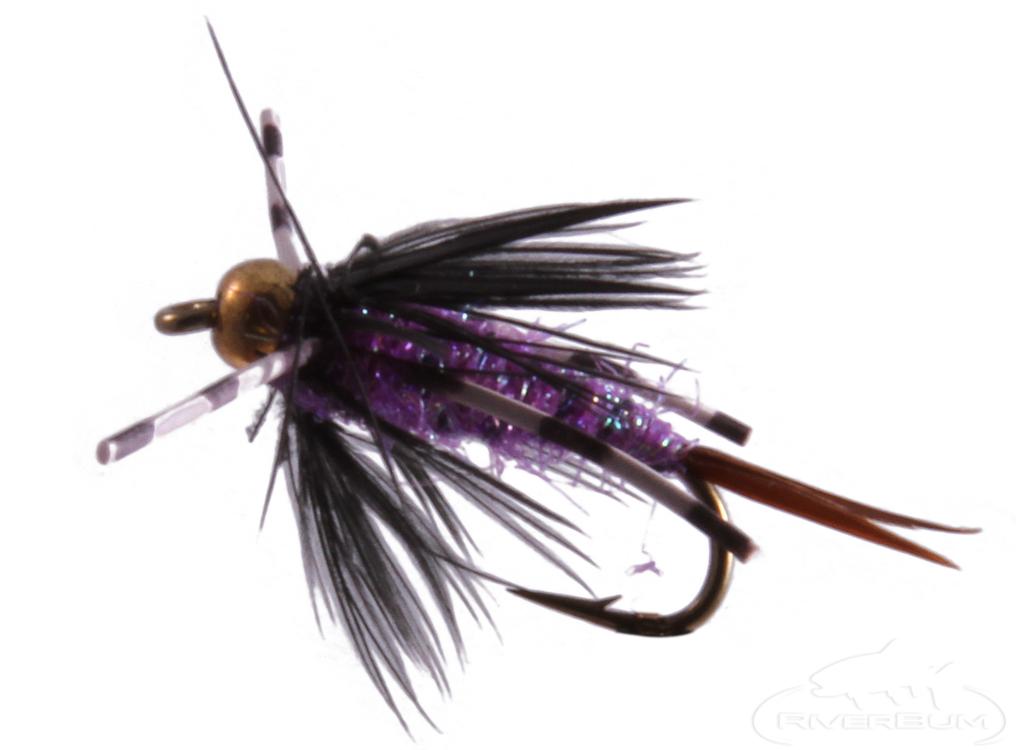 Batman Nymph, Bead Head, Purple