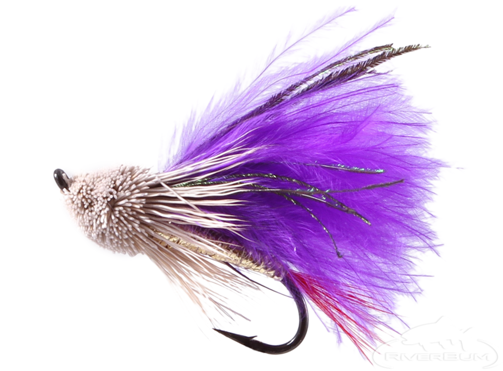 Muddler Minnow Purple