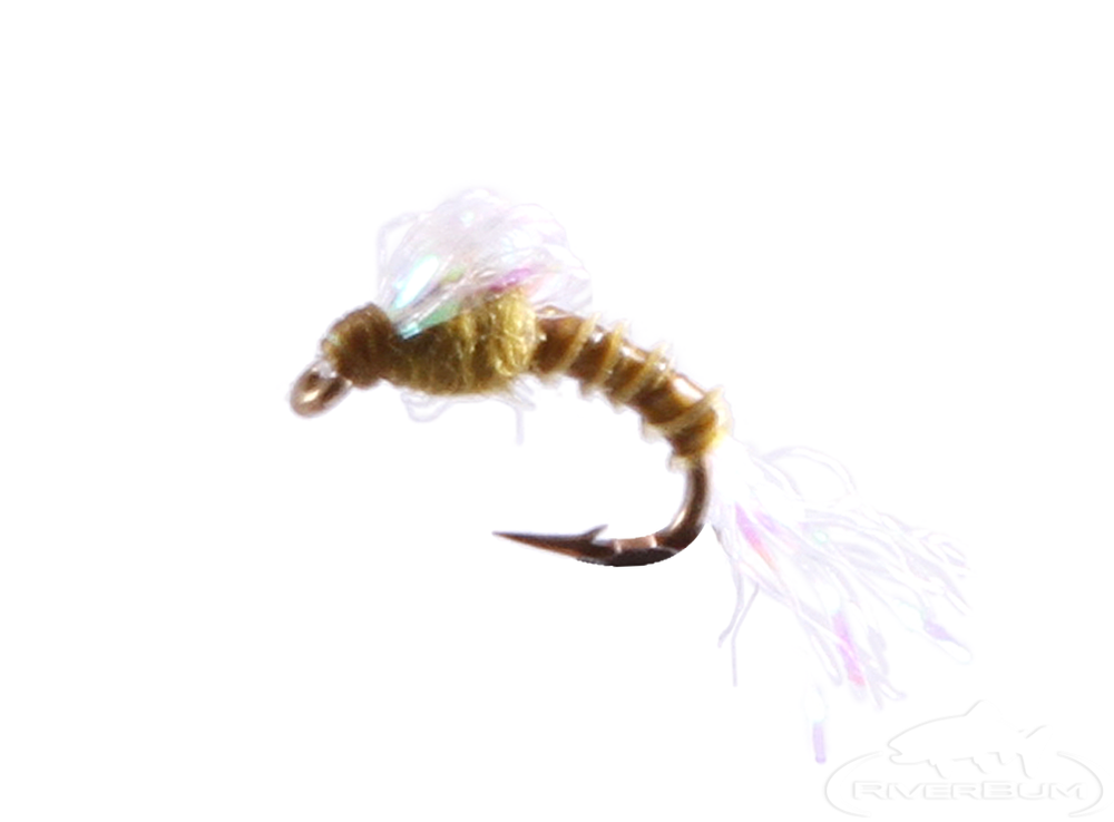 fall emerger for fly fishing